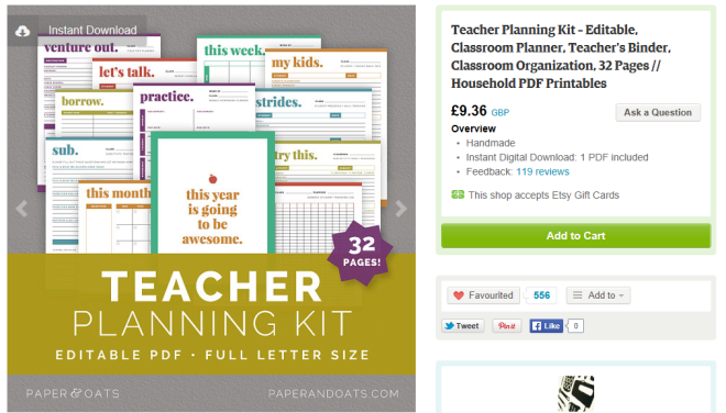 Teacher Planning Kits....