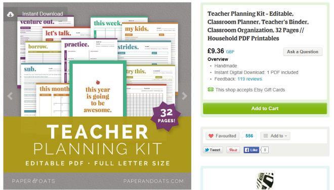 Teacher Planning Kits....