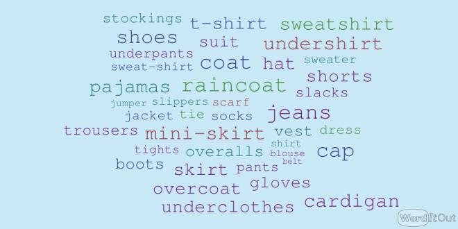 Clothes cloud
